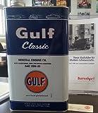 GULF Classic 20W-50, 5Ltr. Blechkanister, Motoröl für Oldtimer