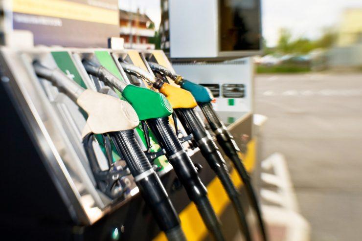 Zapfsäule einer Tankstelle