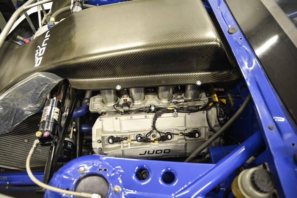 Judd Motor im BMW von Georg Plaza